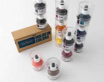 Holbein drawing ink for dip pens (excellent for calligraphy and illustration)