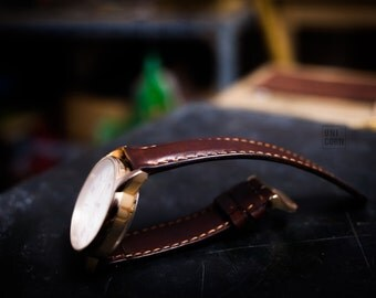 Watch Strap Leather handmade