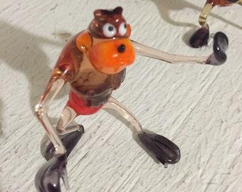 Glass Blown Monkey