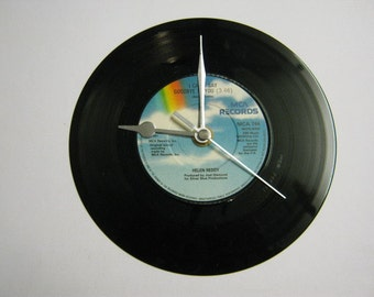 """Helen Reddy - """"I Can't Say Goodbye To You/Save Me"""" Record Wall Clock"""
