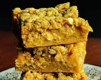 Apple Crisp Blondies