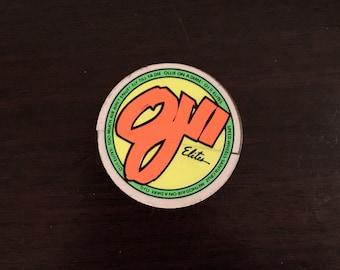 Vintage OJII skateboard wheels sticker!