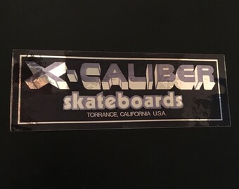 Like..TOTALLY obscure vintage skateboard sticker- for collectors!