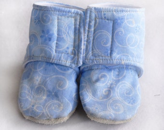 Frozen - Baby 'Stay On' Boots - Baby Shoes - Slip on Baby Shoes - Custom Shoes- Soft Soled shoes - Infant shoes - Booties