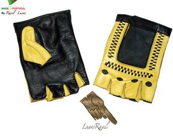 Men Leather Gloves (HCOFRAP2015)