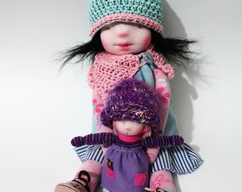 Waldorf inspired doll - Waldorf Doll - Alexandra -  Sock Doll