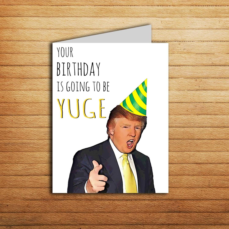 Astounding image regarding donald trump birthday card printable