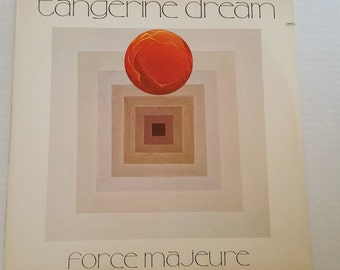 TANGERINE DREAM Force Majeure Lp Vinyl Record 1979  M/M- Virgin Vi2111 Electronic Edgar Froese