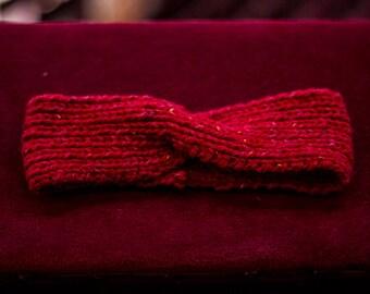 bobbly moore // hand knitted headband