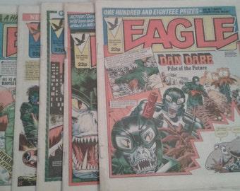 Vintage Comics - Eagle Comics 1983- 1985