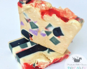 Witches Dragons Blood Soap, shea butter soap, fantasy soap , dragons blood, Cold process soap, Natural.