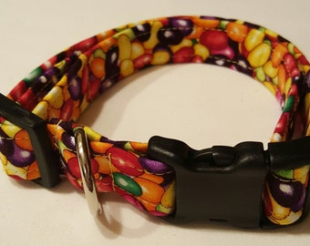 Dog Collar, Jelly Beans, Easter Dog Collar, Easter, Holiday Dog Collar