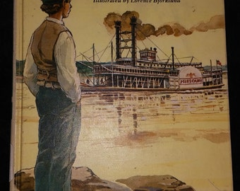 Young Mark Twain and the Mississippi.