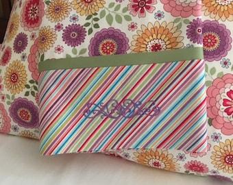 Pink Zinnia Pillowcases - Set