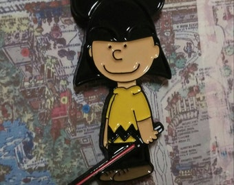 Use the Force Charlie Brown Pin