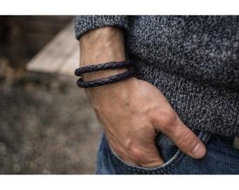 leather bracelet, mens leather bracelet, mens jewelry, leather wristband, unisex bracelet, best gift, armband herren
