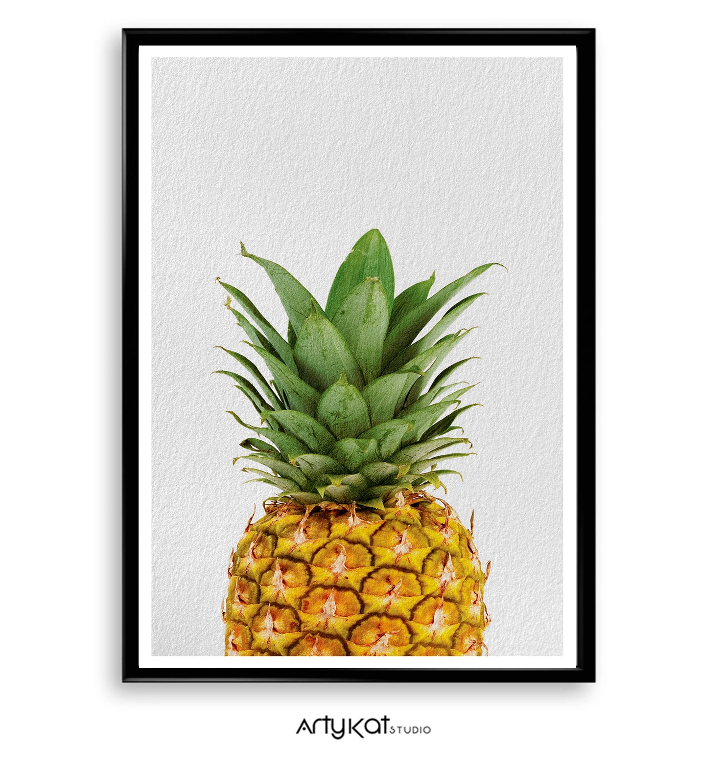 Pineapple Pineapple Print Pineapple Photography Pineapple