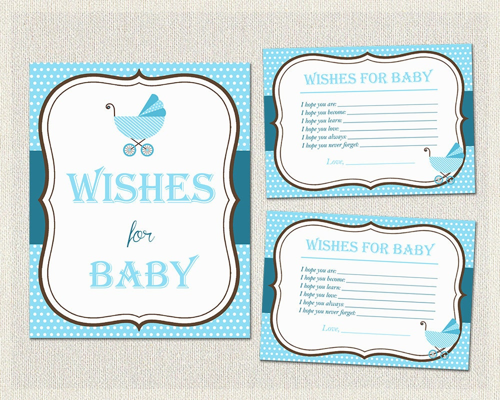 wishes for baby polka dots baby shower activities blue boys