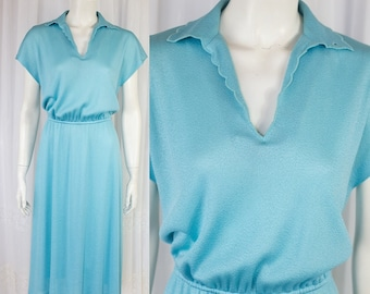 SALE Super cute Vintage 70s lady collar dress!