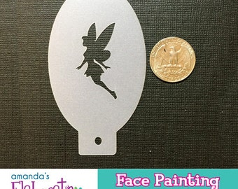 TINK FAIRY - Face Painting Stencil (Mini)