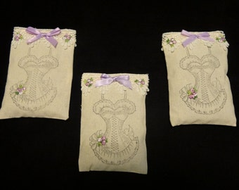 Bridal Shower Lavender Sachet Favors