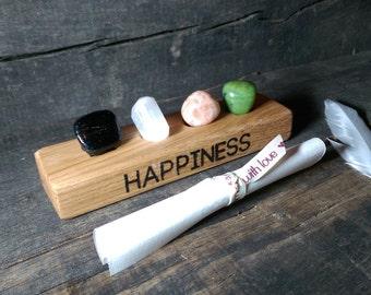 Happiness crystal set - Reiki infused