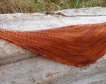 The Harvest Moon shawl pattern