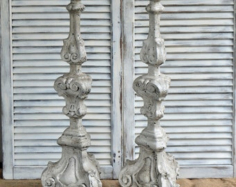 Tall Candle Pillars