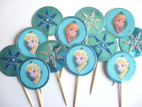Items similar to Frozen cake topper, Frozen centerpiece ...