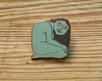 Enamelled brooch, 'Little Giantess'