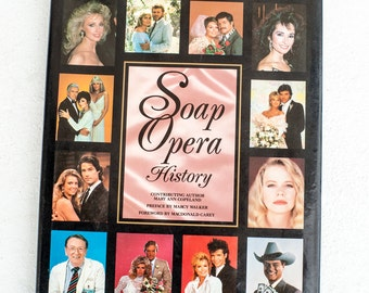 Soap Opera History, Book, Television History, Coffee Table Book