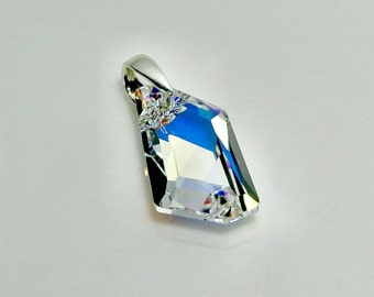 Pendant Swarovski Silver 925-5 colors