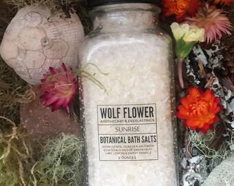 Sunrise Dead Sea Bath Salts - Uplifting Citrus Blend