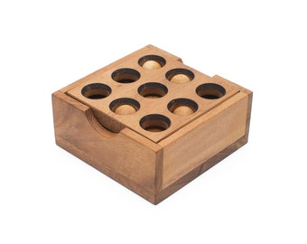 Wooden Toy : Gopher Holes - The Organic Natural Puzzle Game Play for Baby and Kids