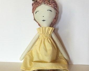 Heirloom Bunny Doll no. 1