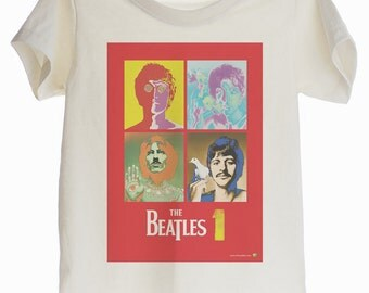 The Beatles Organic T-shirt for Kids