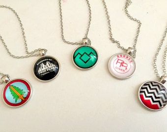 Stunning Twin Peaks Inspired Necklaces