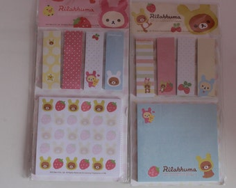 Kawaii/ Cute Rilakkuma Large Sticky notes