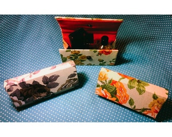 Flower print Clutch bag