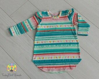 Flutter Sleeve Tunic
