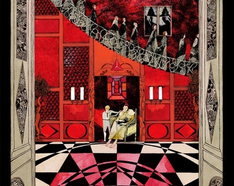 Suspiria Old School Horror Large A1 Poster