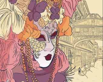 Carnivale Print