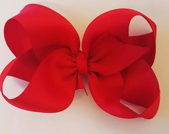 """Large 5"""" boutique bow"""
