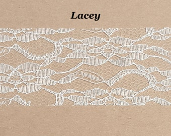 Bouquet Add-On: 'Lacey' Lace Wrap