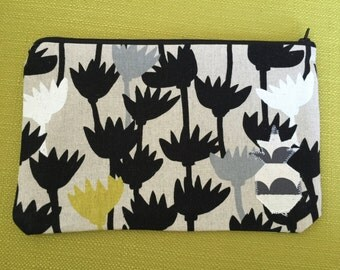 Zipper clutch - 10 x 6 in