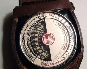 Vintage-1950's-Amsco-dejur- exposure meter