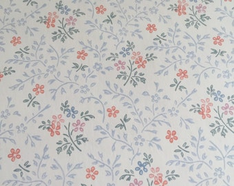 Vintage Flower Vinyl Wallpaper New Rolls  New Country Gear