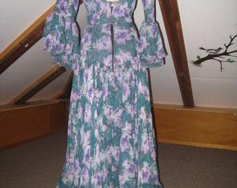 Flamenco skirt and bodice separtes