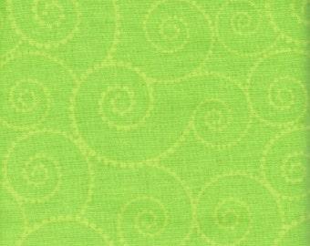 Breastfeeding Cover - Swirl Lime