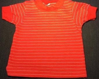 1980's Vintage Stripped Children's T-shirt